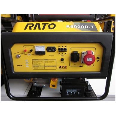 Generatorius RATO R6000D-T